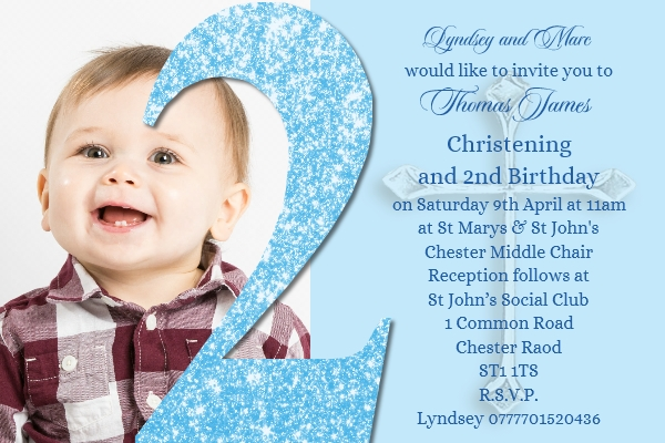 boy s joint christening birthday
