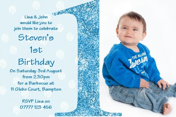 boy s first birthday invitations