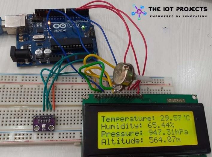BME280 Arduino LCD