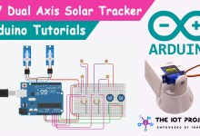 Dual Axis Solar Tracker Arduino Project Using LDR & Servo Motors