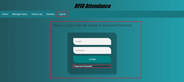 RFID Based Attenance System Using NodeMCU