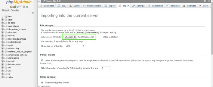 select rfidattendance sql file
