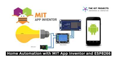 Home Automation with MIT App Inventor and ESP8266