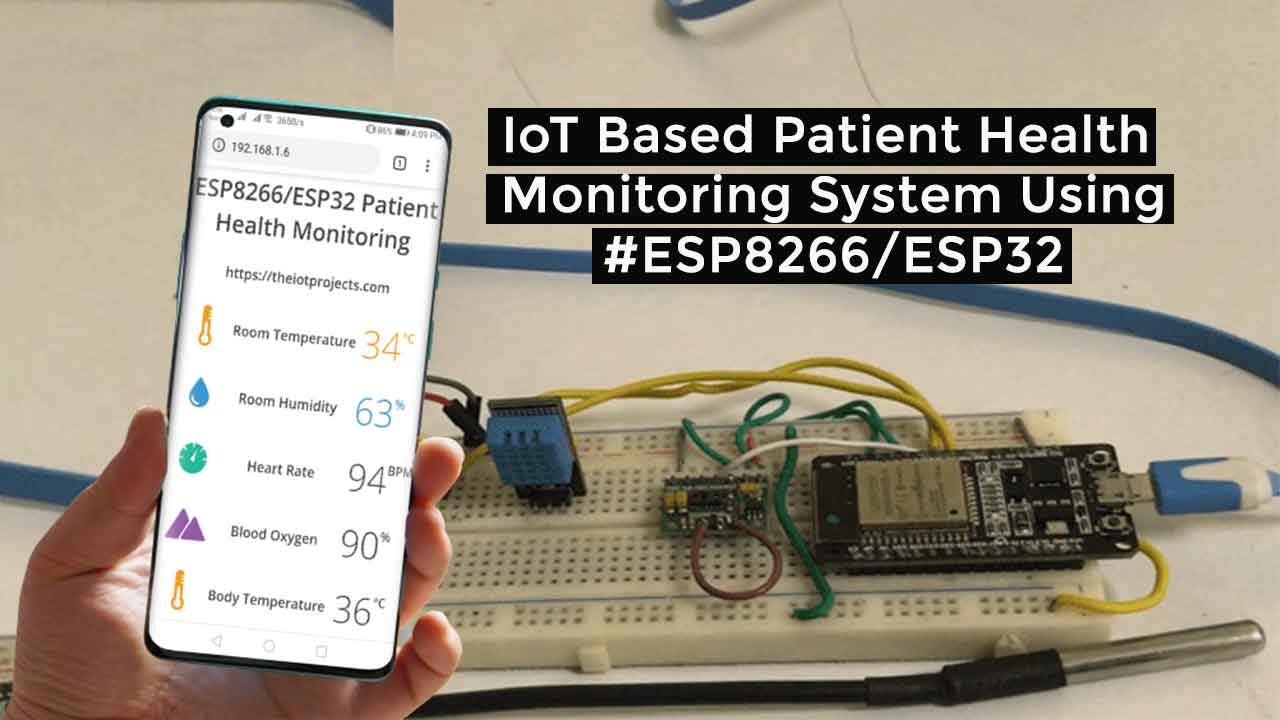 IoT Based Patient Health Monitoring using ESP8266-ESP32