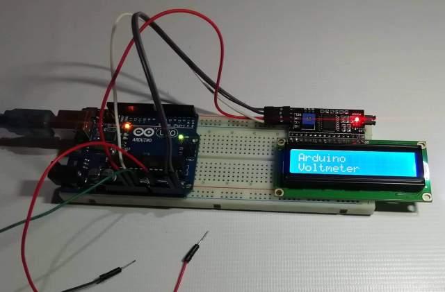 Digital Voltmeter using Arduino