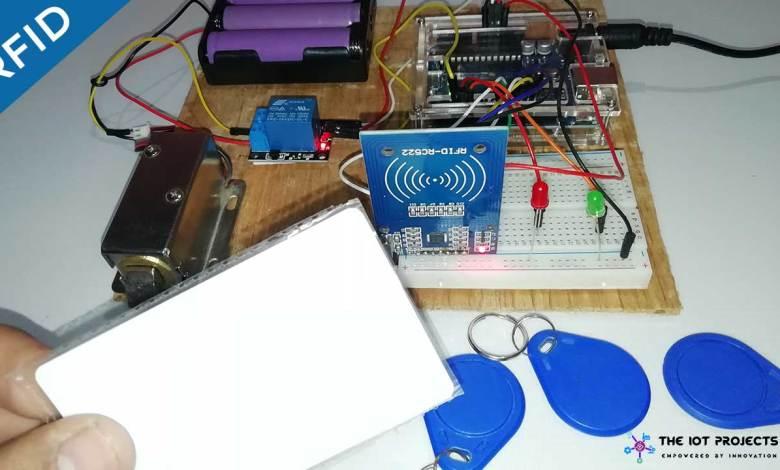 RFID Master Card Door Lock System Using Arduino