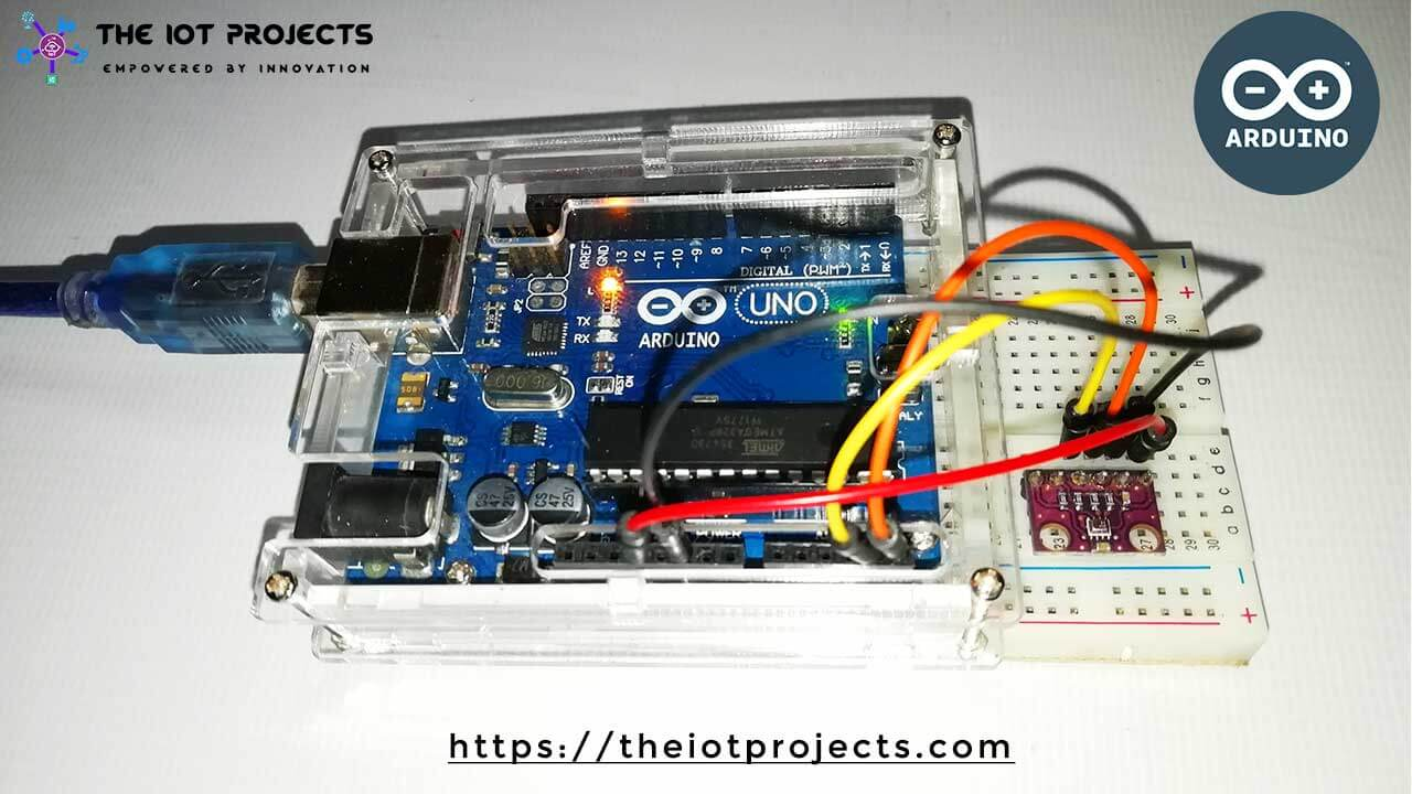 Interface BMP280 Sensor With Arduino