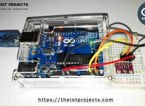 Interface BMP280 Sensor With Arduino