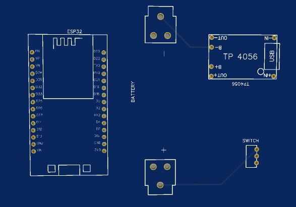 ESP32 WIFI Repeater Custom PCB