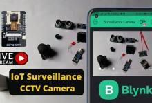 IoT Surveillance CCTV Camera using ESP32 CAM & Blynk