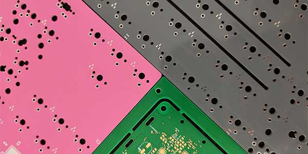 PCB-Pink-and-Greay-Masking
