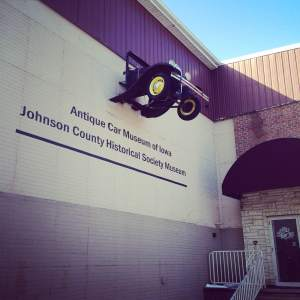 The first stop of the day. The Antique Car Museum of Iowa and Johnson County Heritage Society Museum! http://www.jchsiowa.org/contact