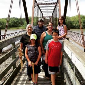 We took welcomed out of state visitors from Indiana, Arizona and family from Texas to join our gallivant. http://theiowagallivant.com/2015/06/02/village-hopping-part-1-of-2-chief-black-hawk-the-banks-of-bentonsport/