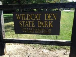 One of Iowa's best blends of history and nature is located right here at Wildcat Den. http://www.iowadnr.gov/Places-to-Go/State-Parks-Rec-Areas/Iowas-State-Parks/ParkDetails/ParkID/610122