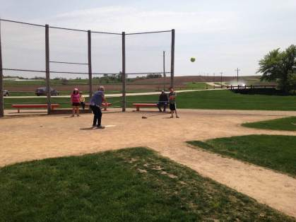 Anyone is welcomed to play on the hallowed grounds of field of Dreams.