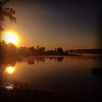 Good morning, Leon! One of Iowa's best opportunities to capture the sunrise is at Little River Lake. Stunning!