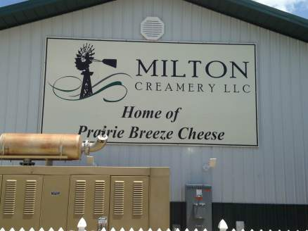 Milton Creamery 202 Iowa HWY 2, Milton, Iowa