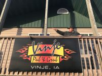 Vinje Pub & Grub in Vinje, Iowa.