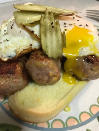 Bacon and Cheddar Skinless Bratwurst From Skoglund Meats-West Bend, Iowa