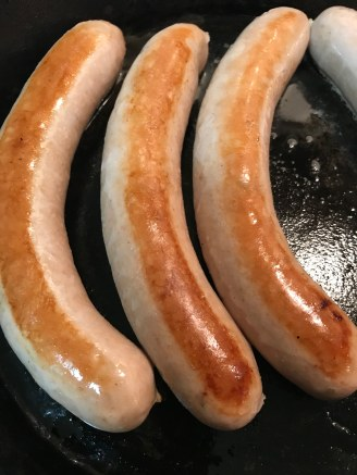 Bratwurst from Kramer's in La Porte City, Iowa