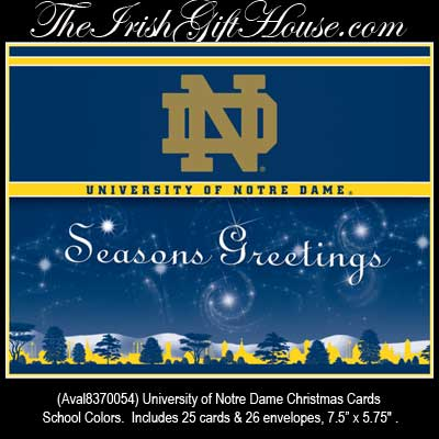 ND Christmas Cards