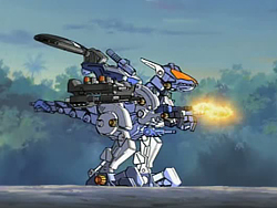 Image result for zoids gun sniper in sniper position