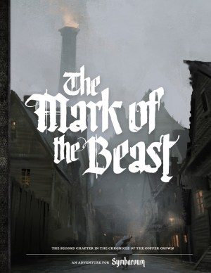 Symbaroum The Mark of the Beast cover