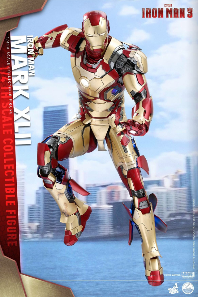 Build Iron Man Mark XLII Armor Costume Suit