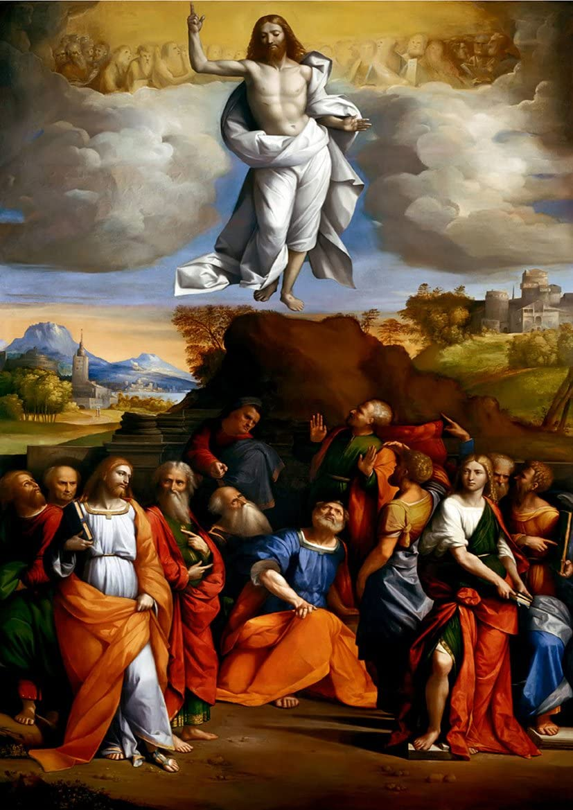Ascension Day: Living in the Gap
