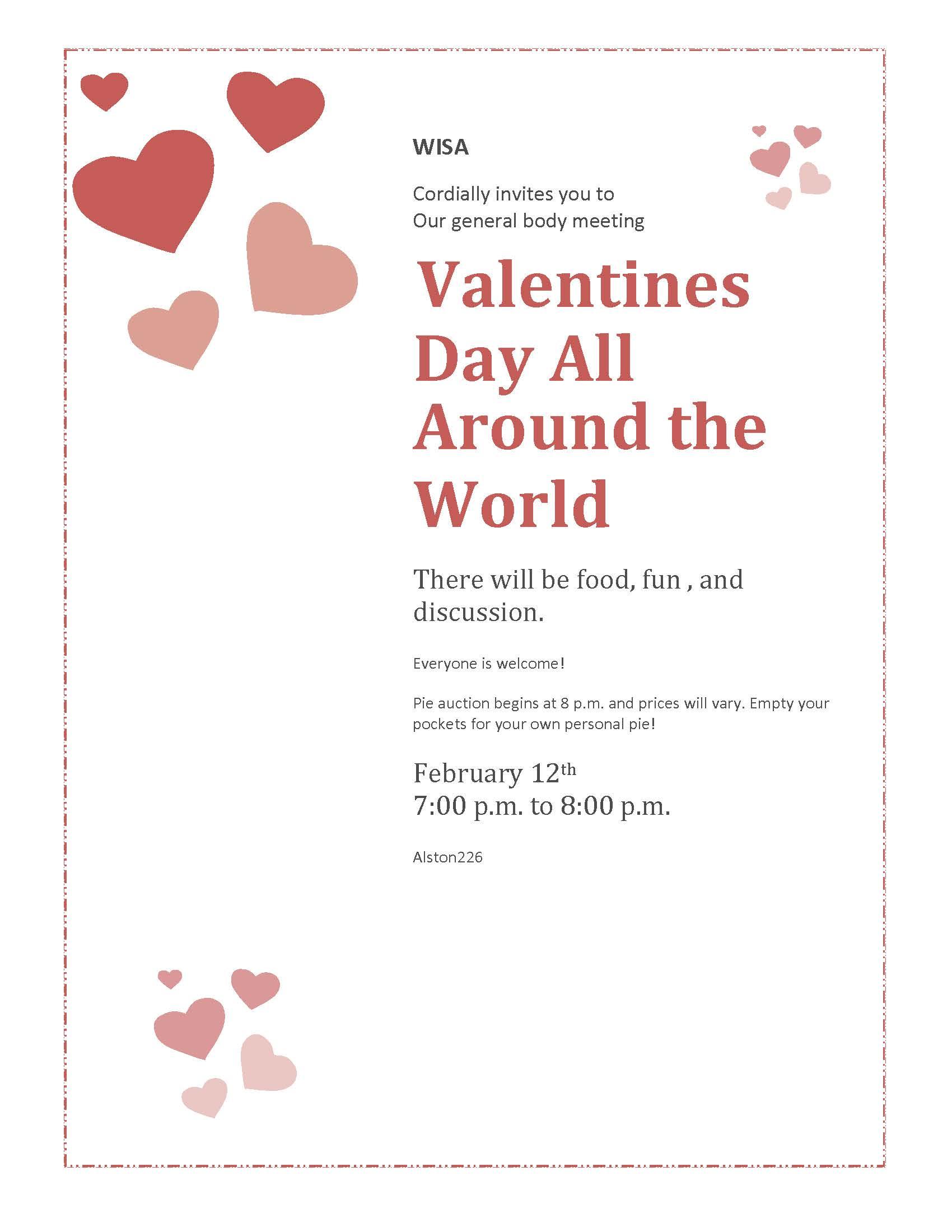 Valentines Day All Around The World