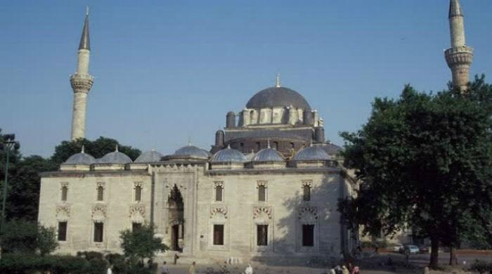 Historic Ottoman mosque destroyed fire Greece