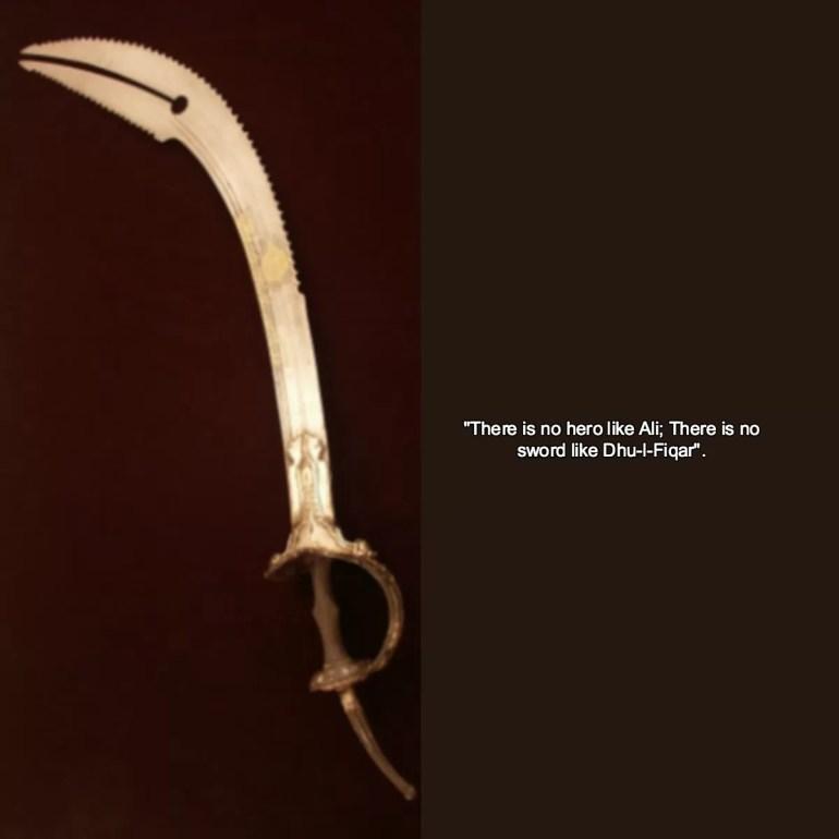 ALI ZULFIQAR SWORD