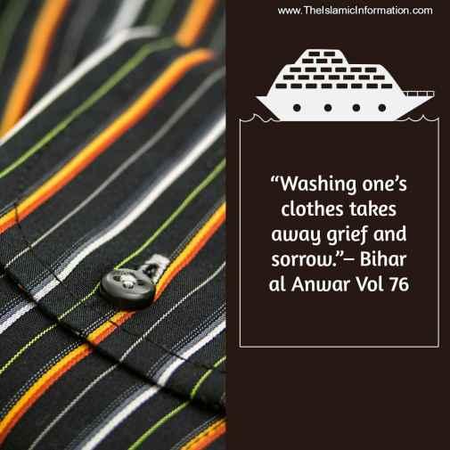 imam ali washing clothes hadith