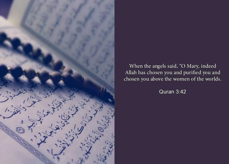 maryam as chosen allah