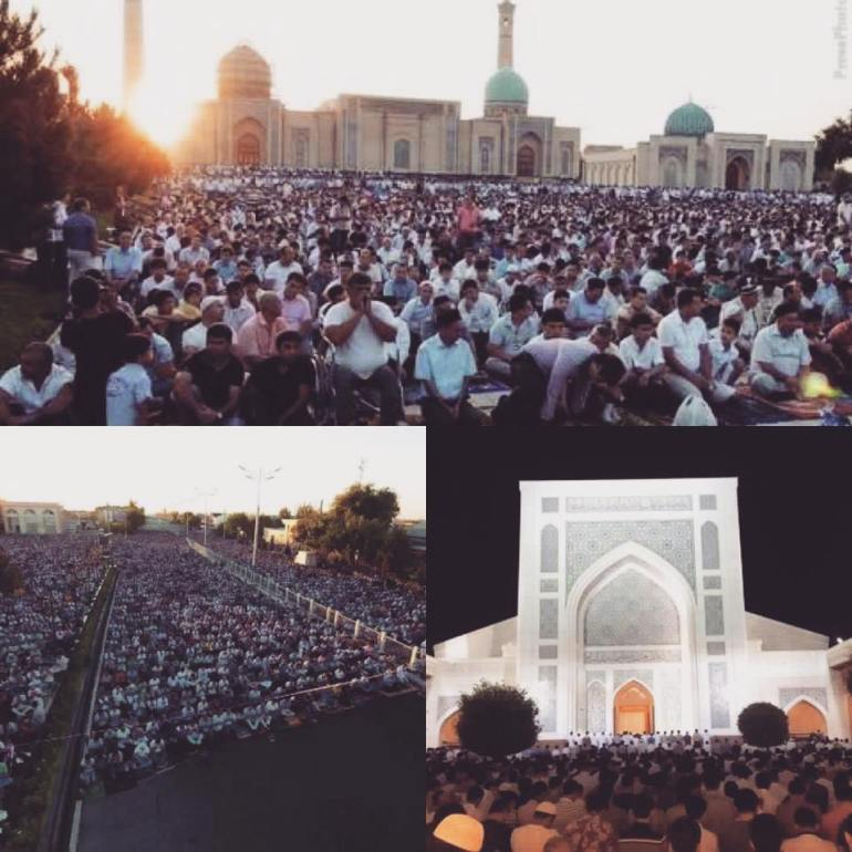 uzbekistan Eid Al Fitr 2017