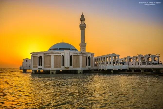 Al-Rahma Mosque, Jeddah, Saudi Arabia