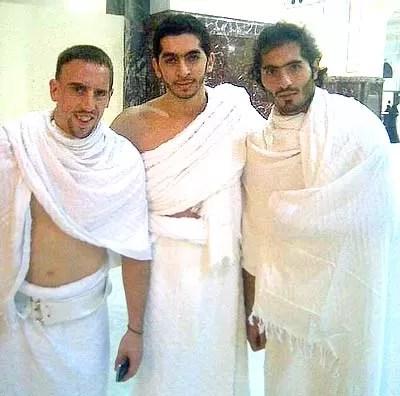 Franck Ribery makkah