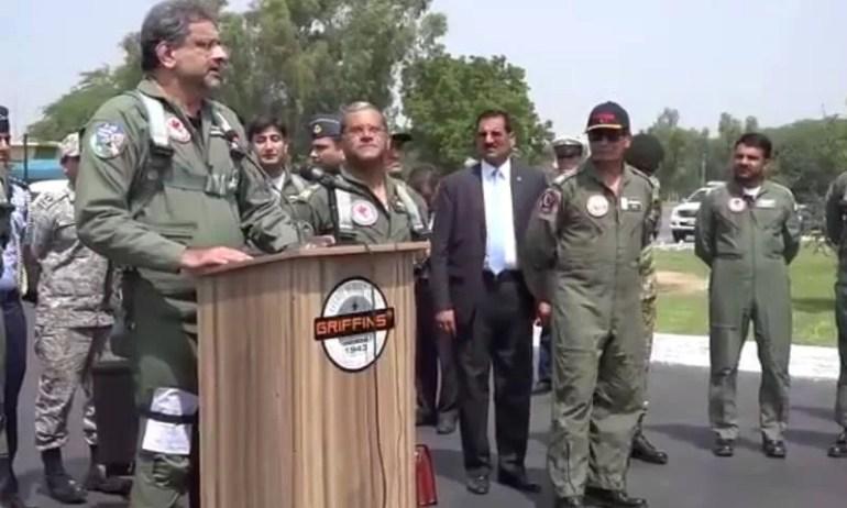 Shahid Khaqan Abbasi fly F16 (3)