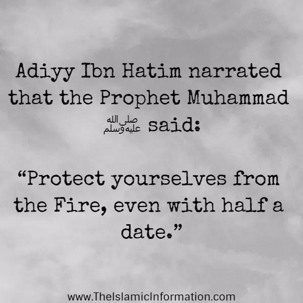 charity hadith