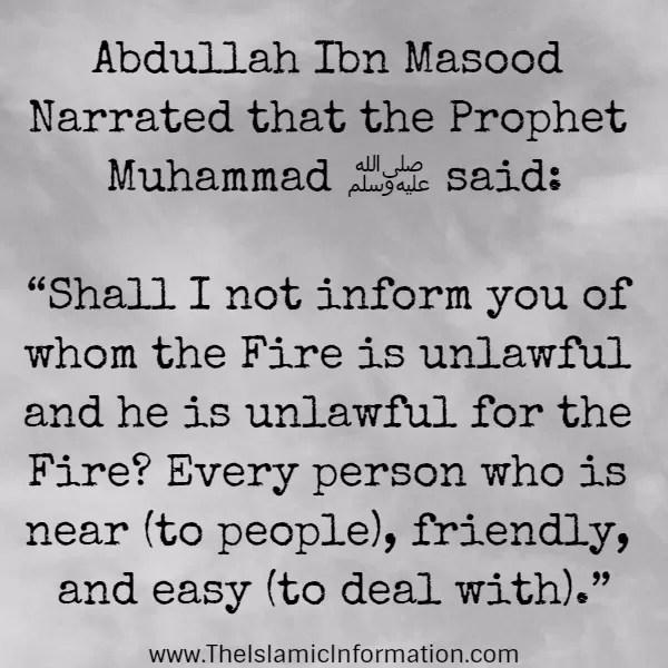 heaven and hell hadith