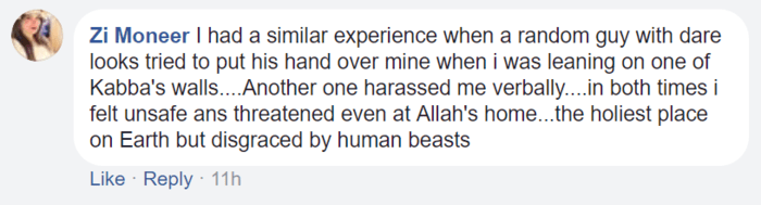 Harassment At Makkah women 2