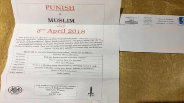 Bartholomew's Night PURGE Muslims UK