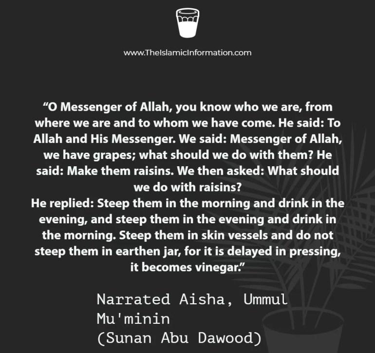 nabeez hadith