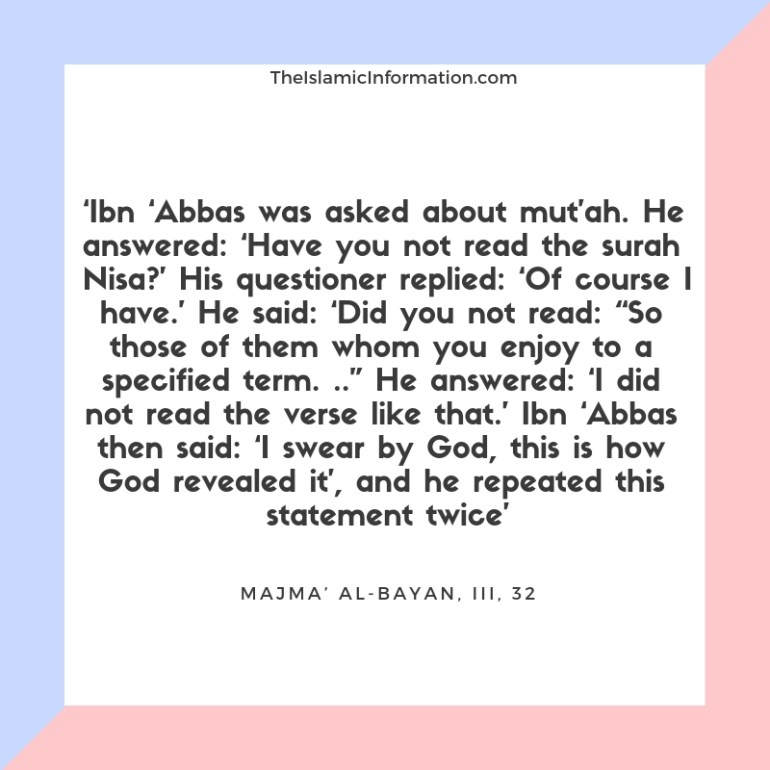 Nikah Mutah Temporary Marriage shia hadith