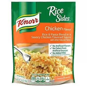 Rice Chicken Broccoli haram