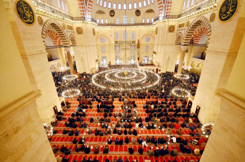 BEAUTIFUL MOSQUES IN TURKEY