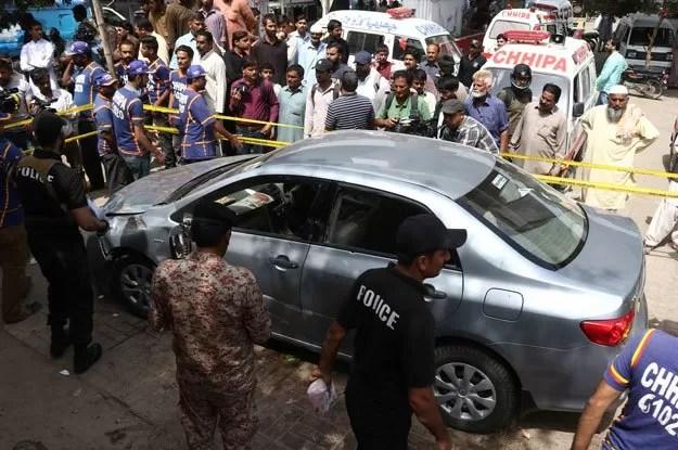 Mufti taqi usmani attack