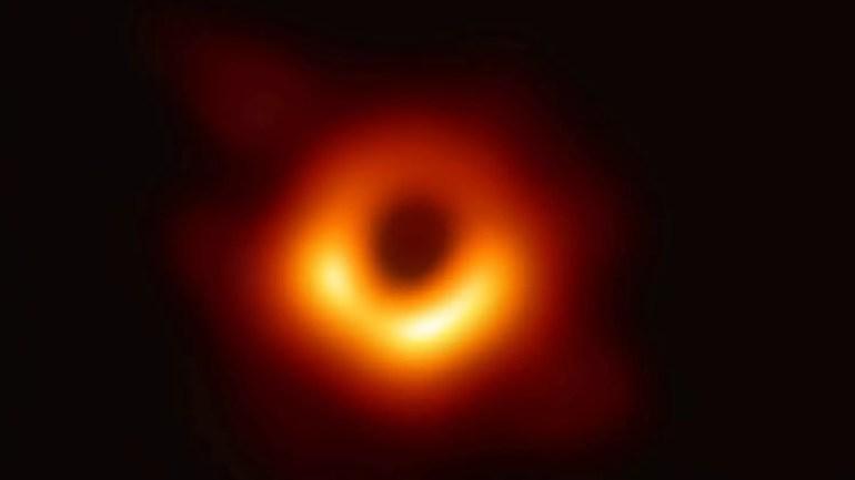 black hole photo nasa