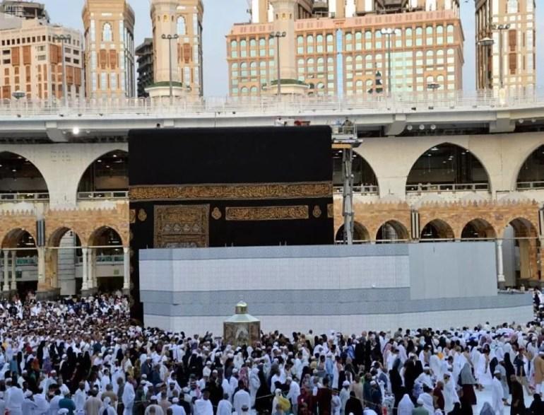 Temporary Maintenance Of The Holy Kaaba 3