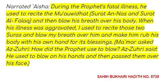 SAHIH BUKHARI HADITH 5735